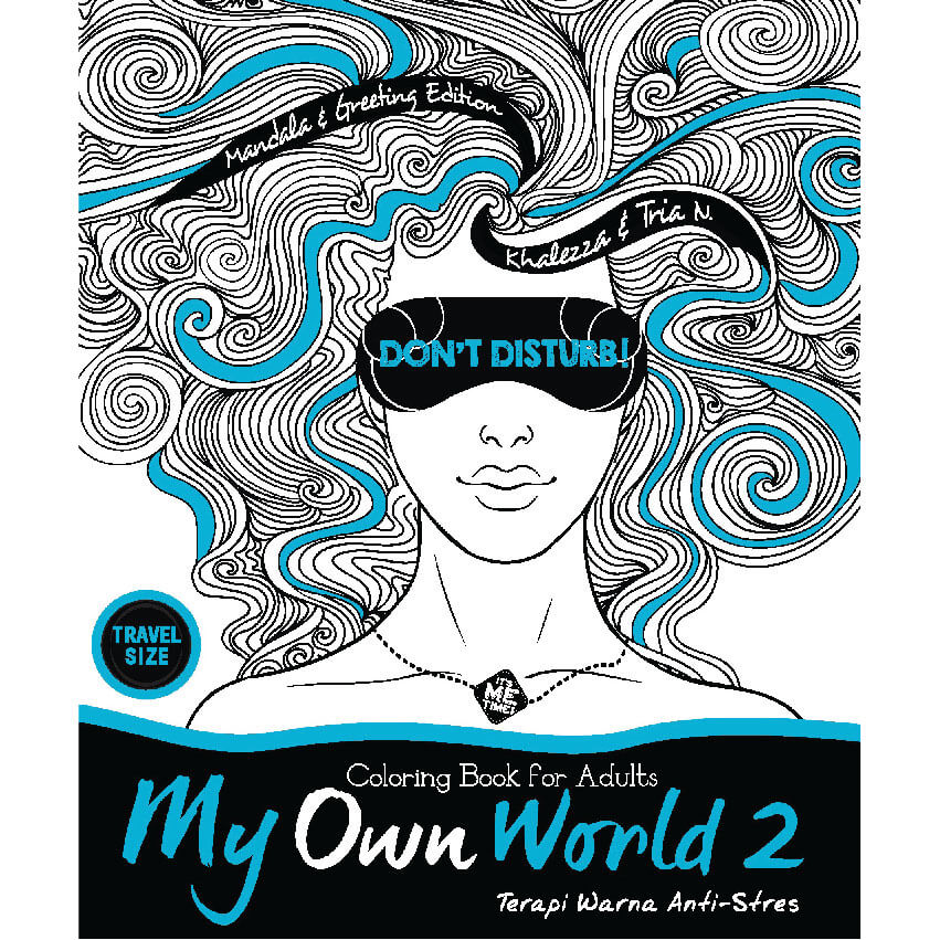 My Own World 2 Coloring Book For Adults Travel Size